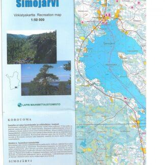 Korouoma-Simojärvi virkistyskartta (206001)